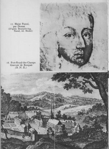 Blaise Pascal, Les Pensées, Les provinciales, Abbaye Port-Royal-des-Champs, église Saint-Etienne-du-Mont