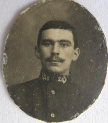 Julien David 1916 28ème régt d'artillerie.JPG